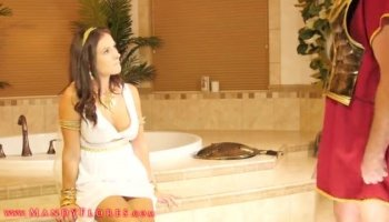 Luxury women with strapon in luxury
