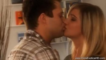 Tight blonde teen pounded in many poses